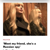 Meert Marina, she is a Russian Spy
